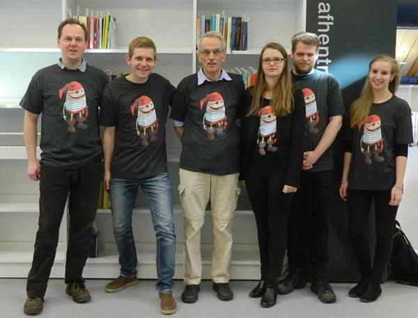 De frivillige fra Coding Pirates