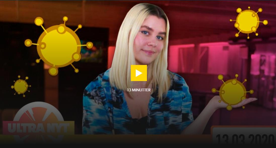 Om corona i Danmark skærmbillede