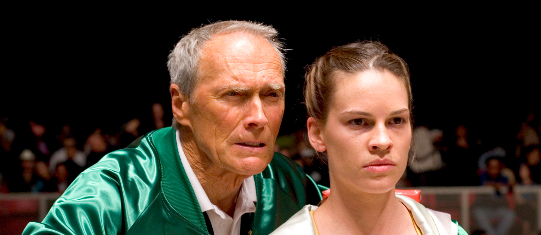Clint Eastwood og Hillary Swank