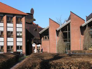 Administrationsbygningen og Hovedbiblioteket i Birkerød