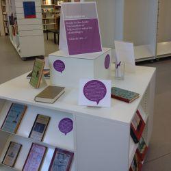 Udstillingen Dansk litteraturhistorie i 1000 år