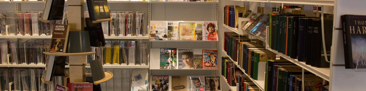 Foto: Bibliotekshylder