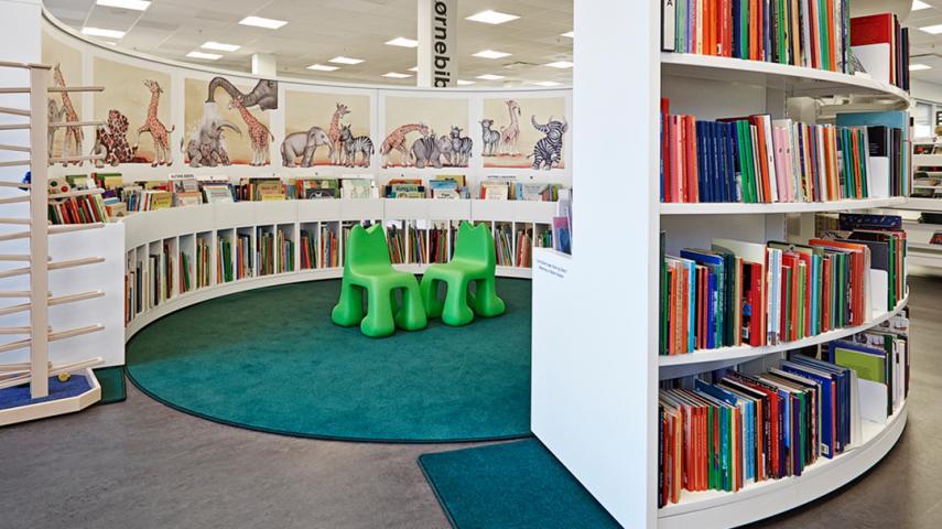 Holte Bibliotek Rudersdal Bibliotekerne