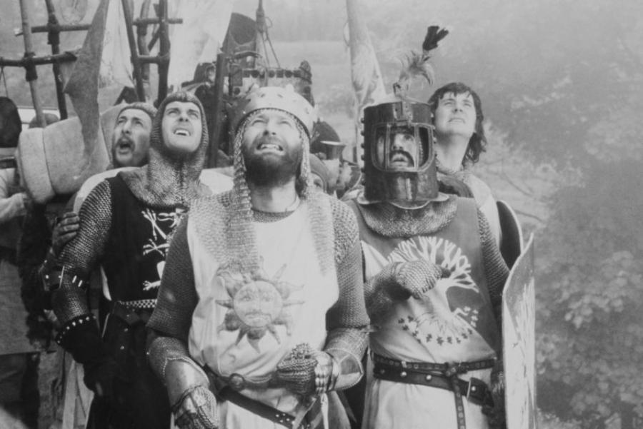 Foto fra filmen 'De skøre riddere'