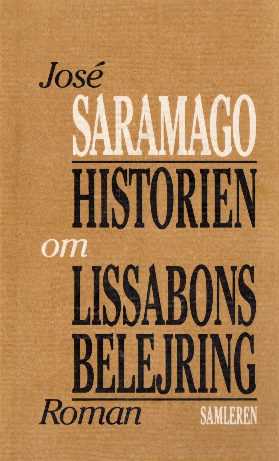 Bogforside: Historien om Lissabons belejring