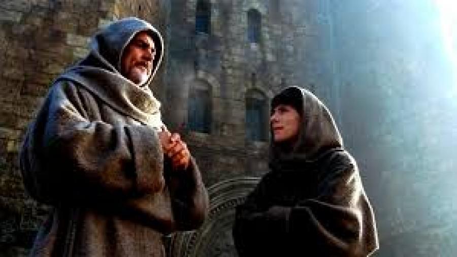 Foto fra filmen 'Rosens navn'