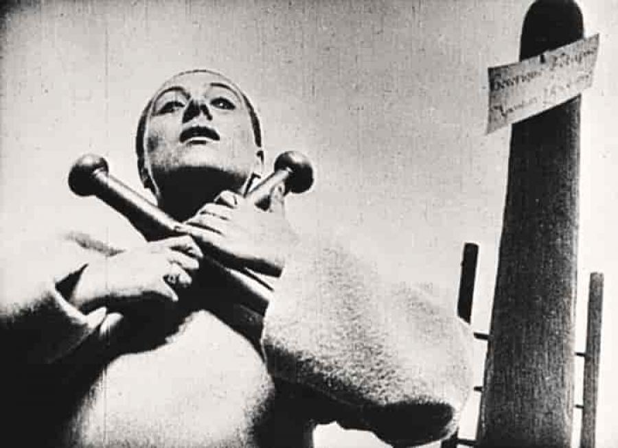 Foto fra filmen 'Jeanne d'Arcs lidelse og død'
