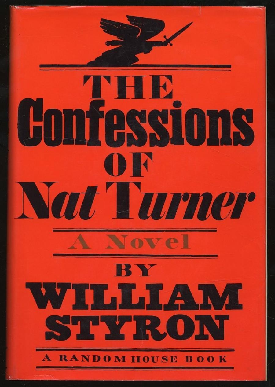 Forsidefoto: William Styron: The Confessions of Nat Turner