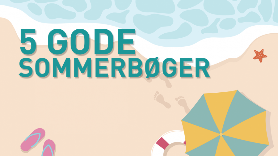 Fem gode sommerbøger