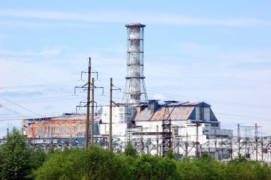 Foto: Chernobyl atomkraft-station
