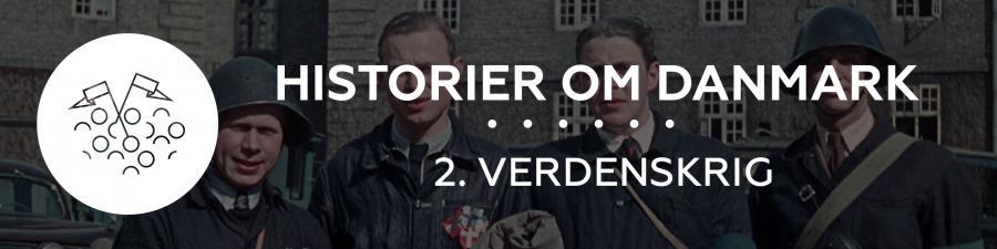Frihedskæmpere i gården til Sølvgades Kaserne i København