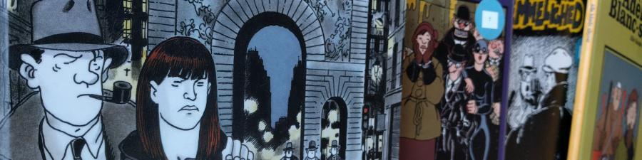 Foto: Forsider af Tardi tegneserier