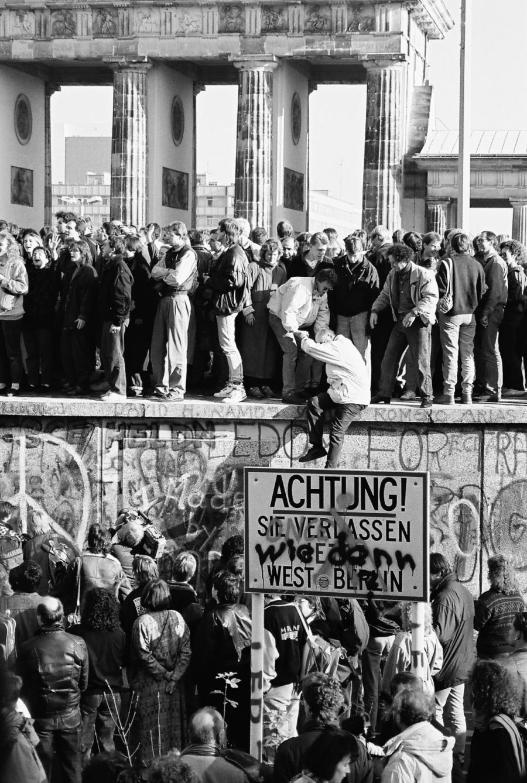 Berlinmurens fald 1989