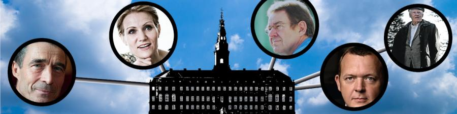 Billede: Danmarks statsministre