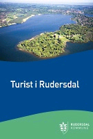 Forside på turistfolder