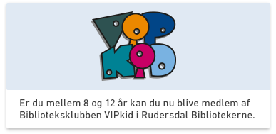 Børnebiblioteksklubben VIPkid
